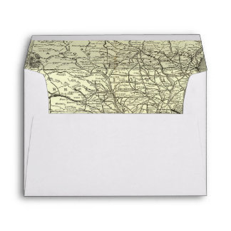 Map Ohio and Mississippi Railway Envelopes