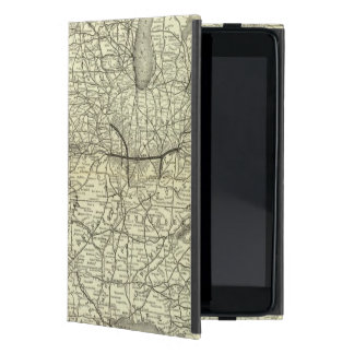 Map Ohio and Mississippi Railway iPad Mini Case