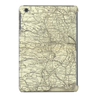 Map Ohio and Mississippi Railway iPad Mini Covers