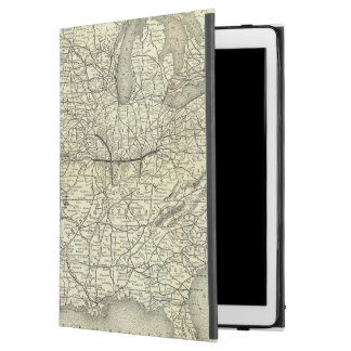 Map Ohio and Mississippi Railway iPad Pro Case