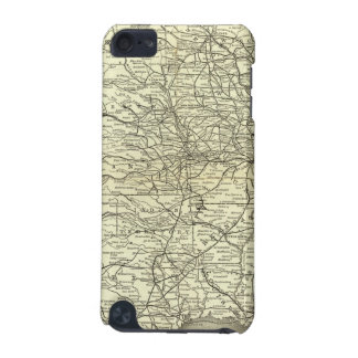 Map Ohio and Mississippi Railway iPod Touch 5G Cover
