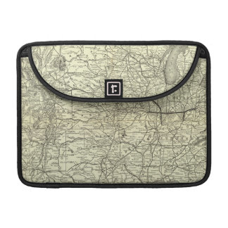 Map Ohio and Mississippi Railway Sleeves For MacBook Pro