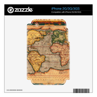 Map on High Quality Gift Item for your Loved Ones Decals For iPhone 3G