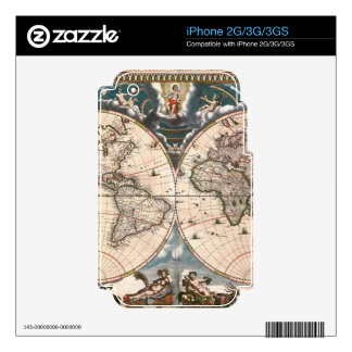 Map on High Quality Gift Item for your Loved Ones Decals For The iPhone 2G