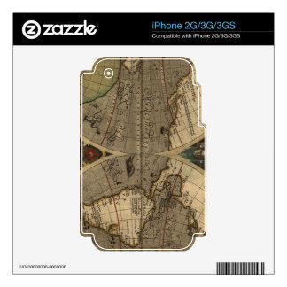 Map on High Quality Gift Item for your Loved Ones iPhone 3G Skin