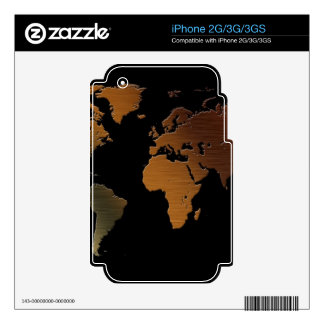 Map on High Quality Gift Item for your Loved Ones Skins For The iPhone 3GS