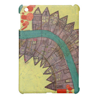 Map painting ipad case