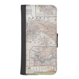 MAP: PANAMA, 1907 iPhone SE/5/5s WALLET CASE