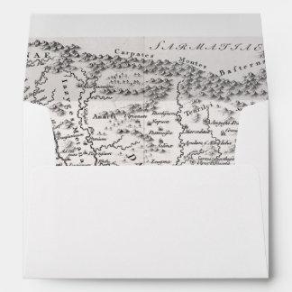 MAP: PANNONIA ENVELOPE