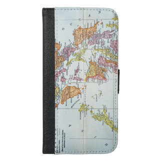 MAP: PHILIPPINES, 1905 iPhone 6/6S PLUS WALLET CASE