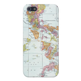 MAP: PHILIPPINES, 1905 iPhone SE/5/5s CASE