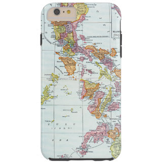 MAP: PHILIPPINES, 1905 TOUGH iPhone 6 PLUS CASE