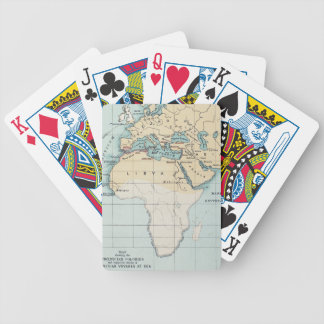 MAP: PHOENICIAN EMPIRE BICYCLE PLAYING CARDS