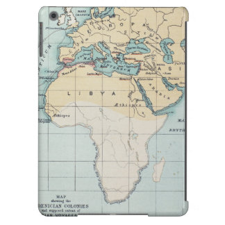 MAP: PHOENICIAN EMPIRE COVER FOR iPad AIR