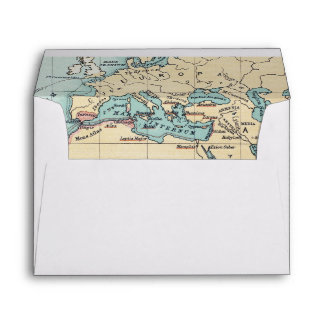 MAP: PHOENICIAN EMPIRE ENVELOPE