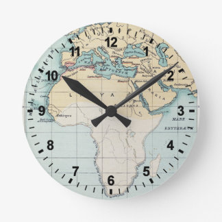 MAP: PHOENICIAN EMPIRE ROUND CLOCK