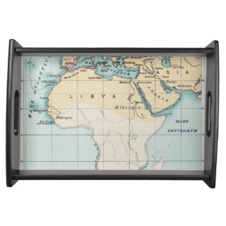 MAP: PHOENICIAN EMPIRE SERVING TRAY
