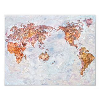 map photo print