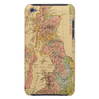 Map physical and mineralogical Case-Mate iPod touch case