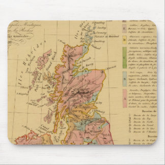 Map physical and mineralogical mouse pad