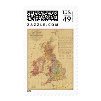 Map physical and mineralogical stamp