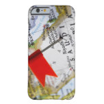 Map pin placed in Riyadh, Saudi Arabia on map, Barely There iPhone 6 Case
