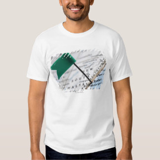 Map pin placed in Sydney, Australia on map, T-Shirt