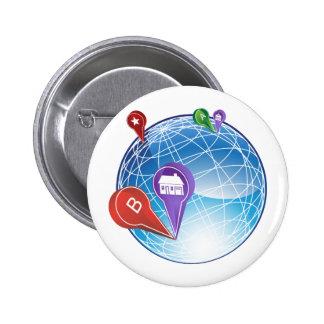 Map Pin Travel Globe