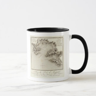 Map Port of Acapulco Mug