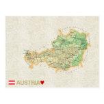 MAP POSTCARDS ♥ Austria