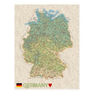 MAP POSTCARDS ♥ Germany