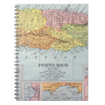 MAP: PUERTO RICO, 1900 NOTEBOOK