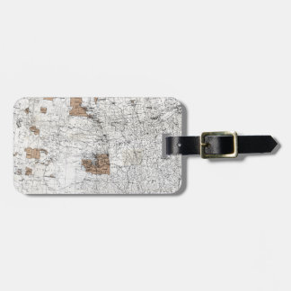 MAP: RESERVATIONS, 1888 BAG TAG