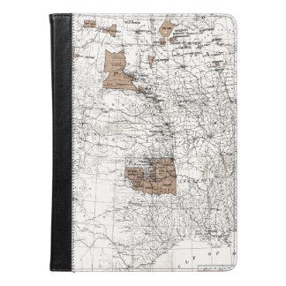 MAP: RESERVATIONS, 1888 iPad AIR CASE