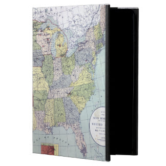 MAP: RESERVATIONS, 1892 iPad AIR COVER