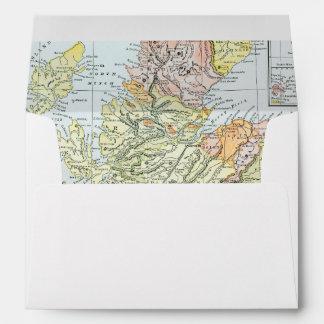 MAP: SCOTLAND ENVELOPE