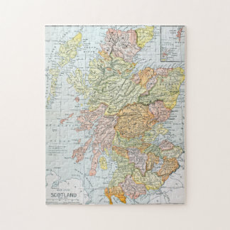 MAP: SCOTLAND JIGSAW PUZZLE