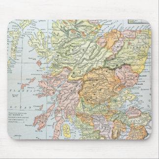 MAP: SCOTLAND MOUSE PAD