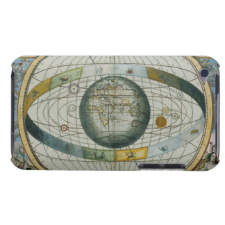 Map Showing Tycho Brahe's System of Planetary Orbi iPod Touch Cover