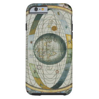 Map Showing Tycho Brahe's System of Planetary Orbi Tough iPhone 6 Case
