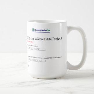 Map the Water Table 1 Coffee Mug
