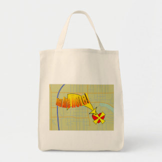 Map to my heart. You are here! Tote Bag