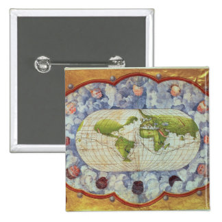 Map tracing Magellan s world voyage Buttons