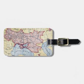 MAP: UKRAINE, c1906 Luggage Tag