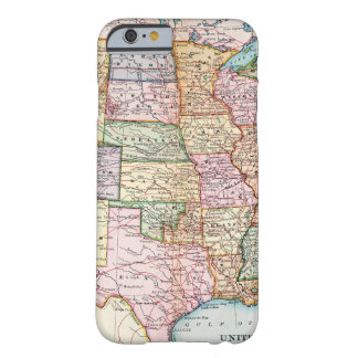 Map: United States, 1905 Barely There iPhone 6 Case
