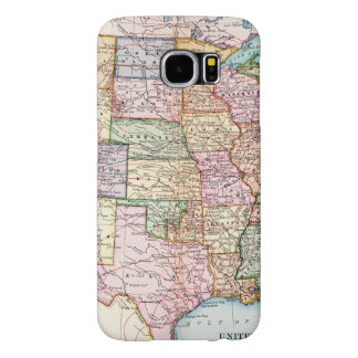 Map: United States, 1905 Samsung Galaxy S6 Case