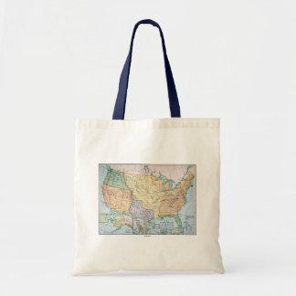 Map: US Expansion, 1905 Budget Tote Bag