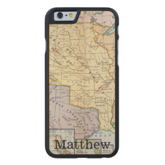 Map: US Expansion, 1905 Carved® Maple iPhone 6 Case