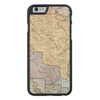 Map: US Expansion, 1905 Carved® Maple iPhone 6 Slim Case