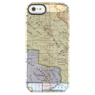 Map: US Expansion, 1905 Clear iPhone SE/5/5s Case
